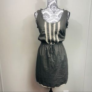 Converse one star dress with button details